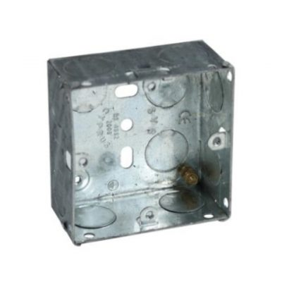 SINGLE Metal Back Box