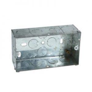 TWIN Metal Back Box